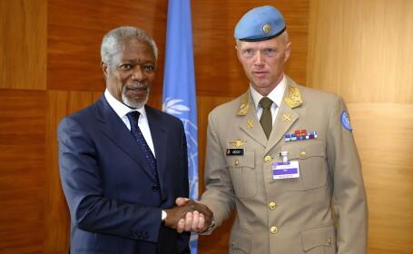 Reprezentantul ONU si al Ligii Arabe, Kofi Annan: \