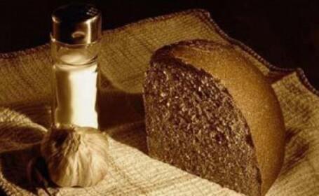 postul Pastelui, paine, sare