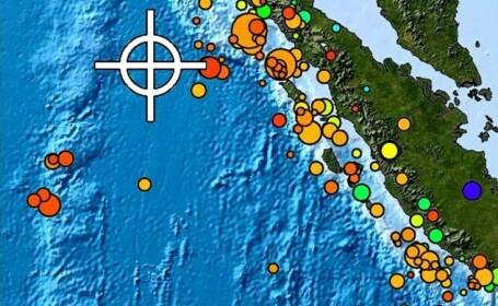 Cutremur in Indonezia. Un seism de magnitudine 6,1 s-a produs in Insula Sumatra