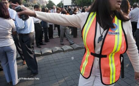 Doua cutremure, cu magnitudinea de 6,9 si 6,5, au avut loc in Mexic
