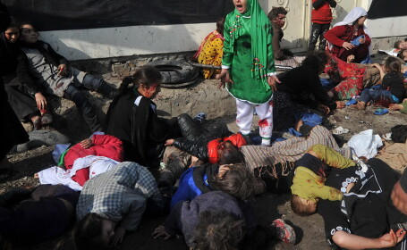 Massoud Hossaini - Fotografia care a castigat Pulitzer 2012