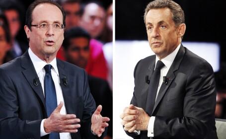 Alegeri Franta 2012: Sarkozy vrea sa ramana presedinte cu voturile lui Le Pen. Atac dur la Hollande
