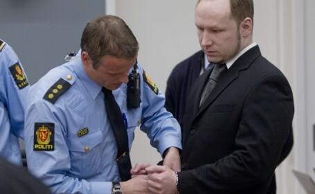 Anders Behring Breivik prezinta scuze pentru victimele fara apartenenta politica