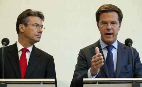 Premierul olandez, Mark Rutte, a prezentat reginei demisia Guvernului minoritar de centru-dreapta