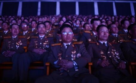 Coreea de Nord isi arata muschii: \