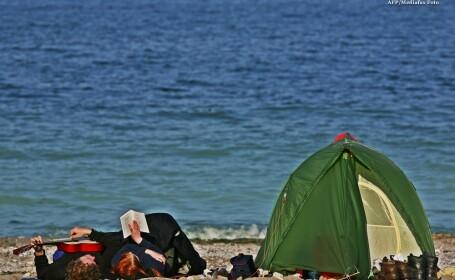 litoral, vama veche, turisti, cort, plaja