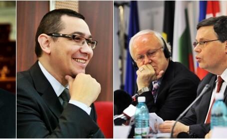 Victor Ponta, Bogdan Dragoi si delegatia FMI