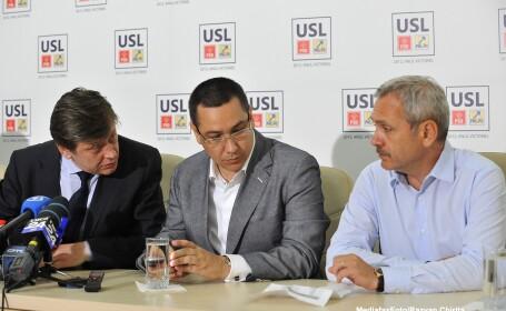 Crin Antonescu, Liviu Dragnea, Victor Ponta