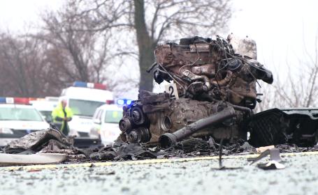 Accident mortal langa Ortisoara. Soferul unui autoturism a intrat pe contrasens si a izbit un TIR