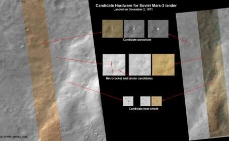 Gasita abia dupa 40 de ani. Naveta spatiala care a disparut pe Marte, identificata in fotografii