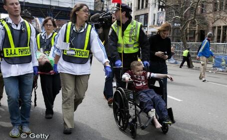 MAE: Printre victimele exploziilor de la Boston nu au fost identificati cetateni romani