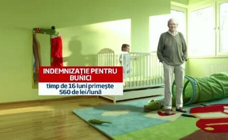 Proiect: Bani pentru bunicii care au grija de nepoti, pentru ca mamele sa se intoarca la serviciu