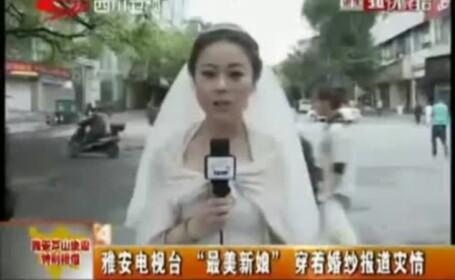 China, mireasa relateaza despre cutremur