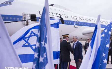 Chuck Hagel in Israel