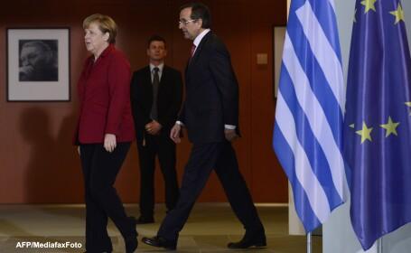 Angela Merkel, Antonis Samaras