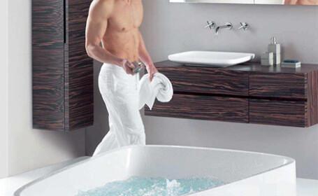 Ce a gasit un barbat in cada de baie din casa lui. \
