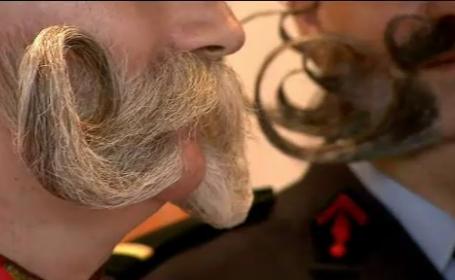 Campionat dedicat parului facial, in Germania. Cum s-au pregatit concurentii pentru competitie