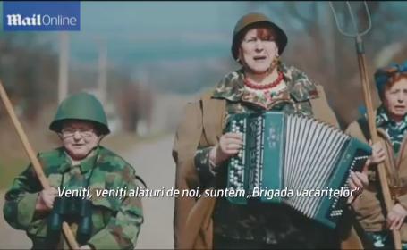 Ucrainenii au umor. Clipul cu mesaj patriotic are mare succes pe internet
