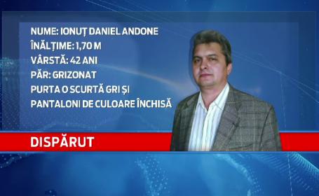 Directorul economic al unei companii din Galati a disparut de 10 zile. Era ingrijorat din cauza unui audit la firma