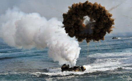 Exercitiu militar comun SUA-Coreea de Sud