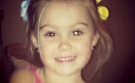 A fost diagnosticata pe Facebook. Ce au descoperit prietenii mamei sale in ochii unei fetite de trei ani