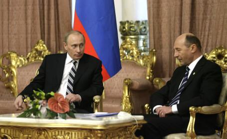 Vladimir Putin i-ar fi scris lui Traian Basescu un avertisment in legatura cu situatia de la Kiev