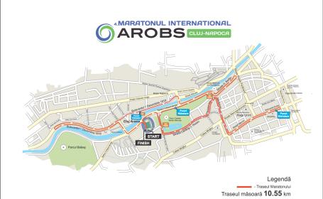 Peste 3.000 de atleti vor lua parte la Maratonul International AROBS la Cluj-Napoca