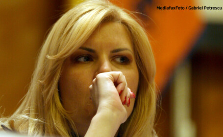 Elena Udrea suparata