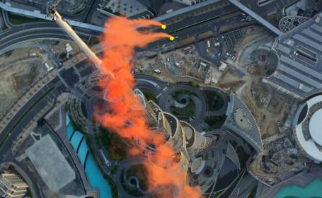 Salt de pe Burj Khalifa