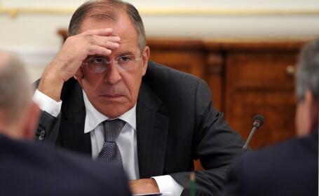 Declaratie surprinzatoare a ministrului rus Serghei Lavrov: \