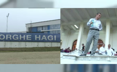 Gigi Becali, sef peste detinuti la Academia Gheorghe Hagi. Nimeni nu l-ar fi vazut muncind pe patronul Stelei