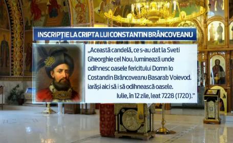 Scenariu demn de filme pentru deshumarea istorica a domnitorului Constantin Brancoveanu. Procesiunea va avea loc pe 21 mai