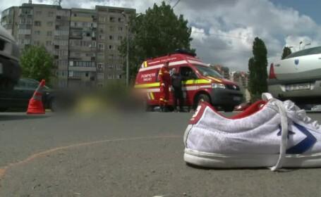 Un pas in plus i-a fost fatal unui adolescent din Capitala. Baiatul de 17 ani a fost spulberat de o masina