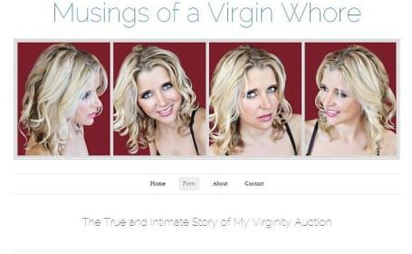 Studenta de 27 de ani care isi vinde virginitatea si-a expus chipul in public. Cum arata femeia