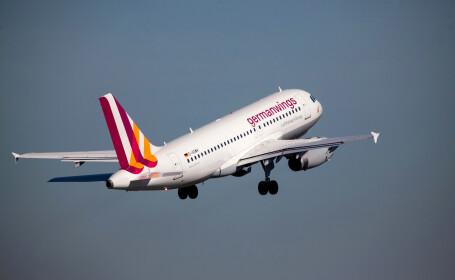 Avion Germanwings, nevoit sa aterizeze la Venetia. Ce s-a intamplat cu doua persoane aflate la bord