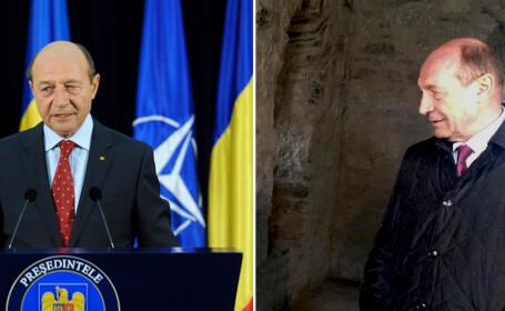 Basescu inainte si dupa plecarea de la Cotroceni - POZE OFICIALE