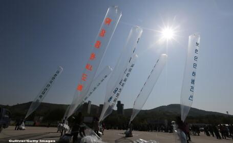 Baloane in Coreea de Nord