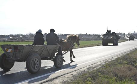 caruta si blindate americane Stryker in Romania -FOTO DVIDS