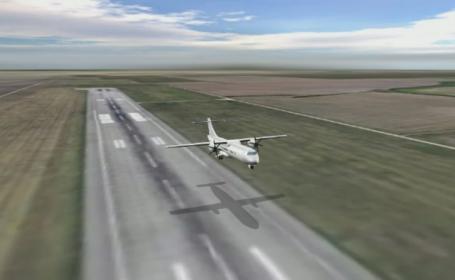 Avionul cu care premierul si presedintele Senatului s-au intors de la Cluj a ratat aterizarea. Reactia celor de la TAROM