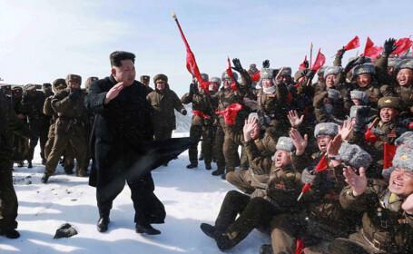 Kim Jong Un a urcat pe muntele sfant Paektu. \