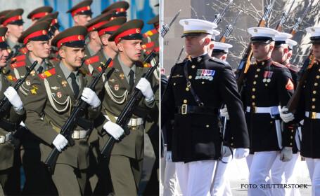 soldati americani vs soldati rusi