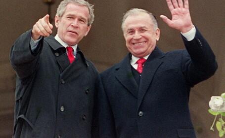 Ion Iliescu, George W. Bush