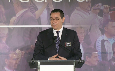 Victor Ponta: \