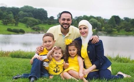 familie de musulmani