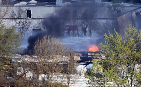 Cel putin trei explozii si incendii in Bordeaux, Franta, in aceasta dimineata. Mai multi pompieri au fost raniti