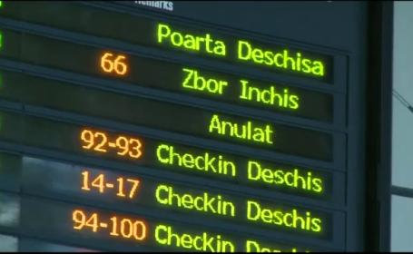 Greva generala in toate aeroporturile din Grecia, joi. Cate avioane din si spre Romania au fost anulate