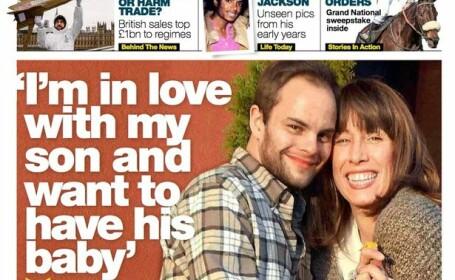Mama si fiul care s-au regasit dupa 30 de ani si s-au indragostit unul de altul. \