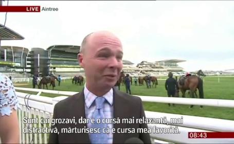 Reactia acestui reporter BBC cand afla ca trebuia sa fie in doua locuri in acelasi timp. A rupt-o la fuga in direct
