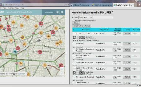 Primaria Capitalei va avea o harta in timp real cu cele mai periculoase gropi. De ce nu intervine sa le astupe rapid
