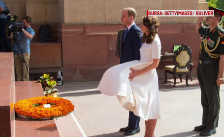 William si Kate in India